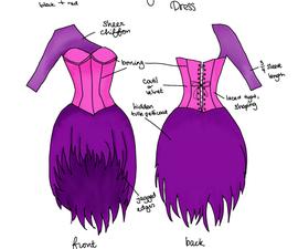 Corset Dress Design