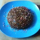 Microwave Vanilla Sponge Cake With Chocolate Ganache Frosting