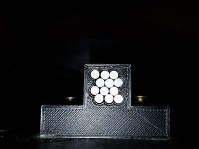 Fibre Optic Coupling the LEDs