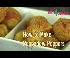 How to Make Peppadew Poppers - Crumbed, Deep-fried Stuffed Piquante' Peppers