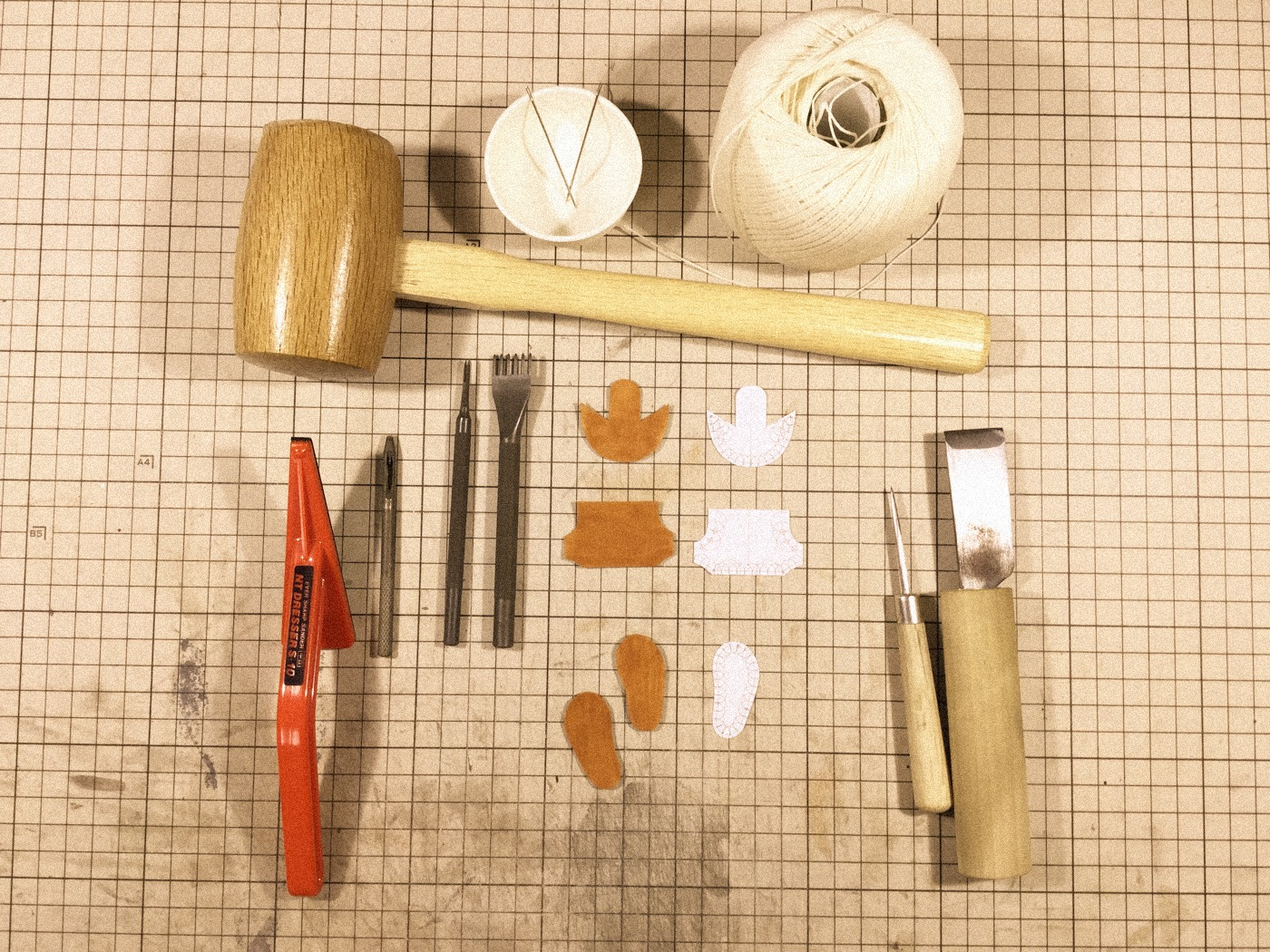 Picture of  Pattern and Parts