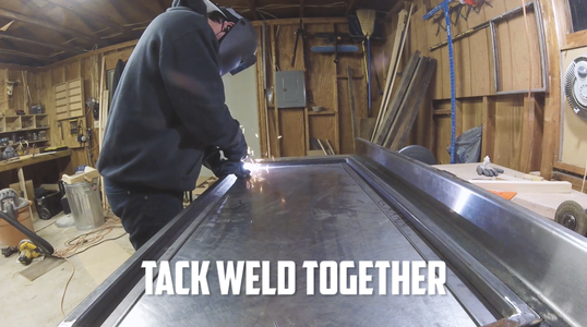 Weld Wood Supports