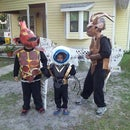 My Boys Wanted to be SkyLanders for Halloween this Year...