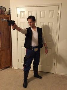 Gunbelt Complete. . . Costume, Not Just Yet