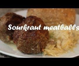 Sourkraut Meatballs Recipe