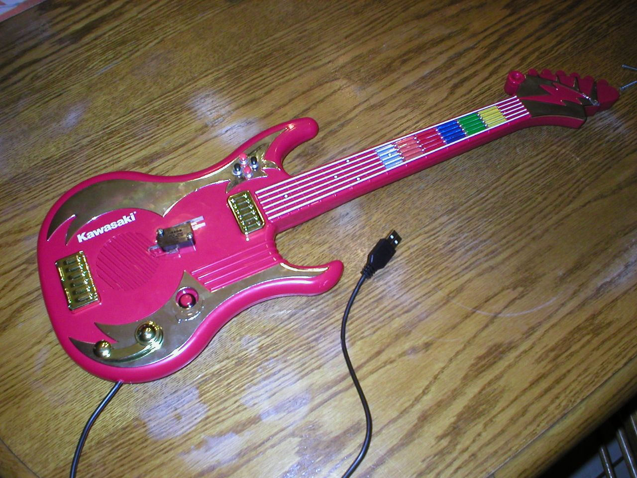 make a guitar hero kit for your pc 11 steps instructables  xbox guitar controller usb wire diagram #4