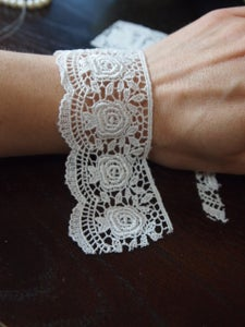Measure and Cut the Lace