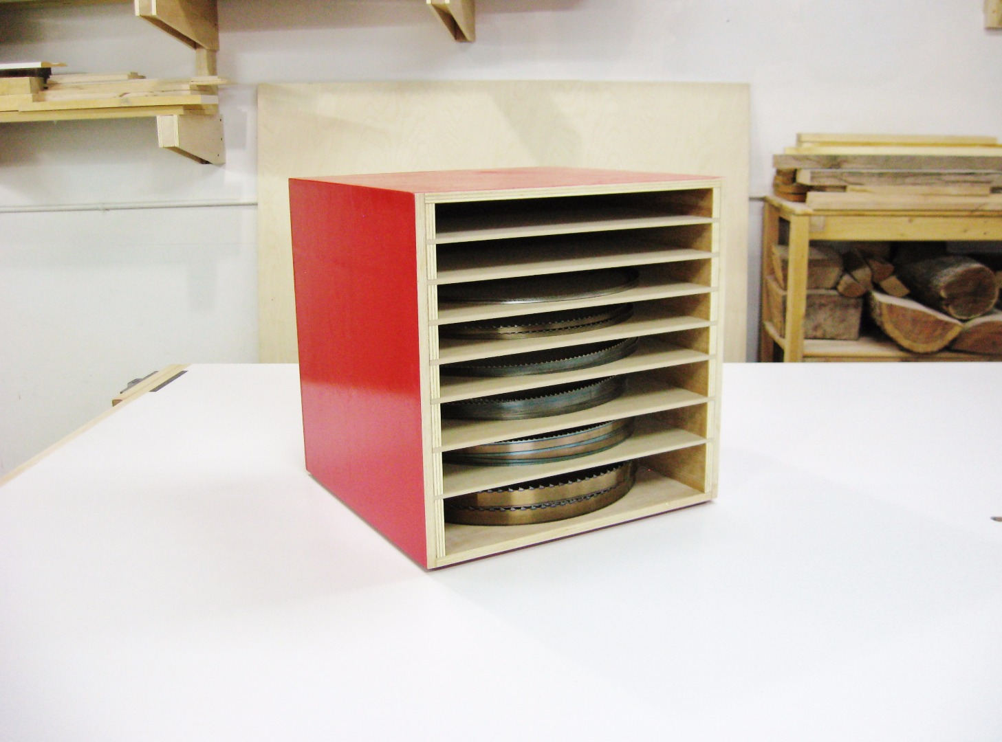 Picture of Bandsaw Blade Storage Box