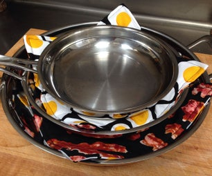 Easy and Stylish Fabric Pan Protectors