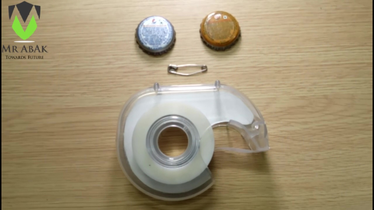 Picture of Bottle Cap Badges : Materials Required