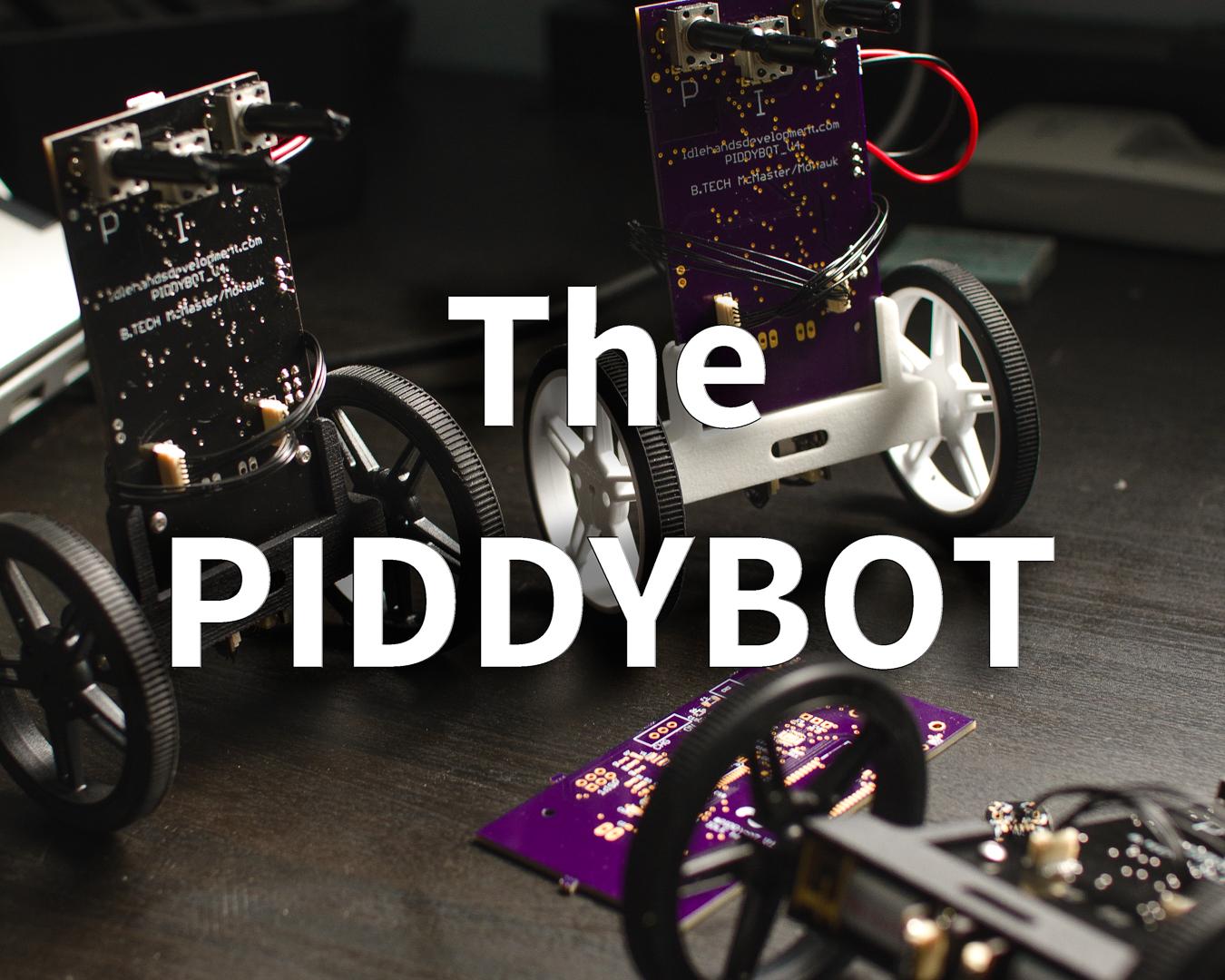 Picture of PIDDYBOT - DIY Arduino Balancing Robot