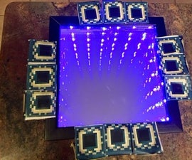 Minecraft End Portal Infinity Mirror