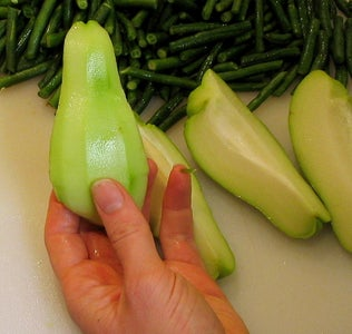 How to Process Chayote Squash