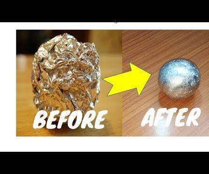 DIY Japanese Aluminum Foil Ball: 4 Steps