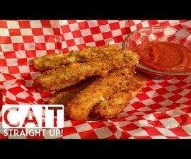 Homemade Mozzarella Sticks Recipe