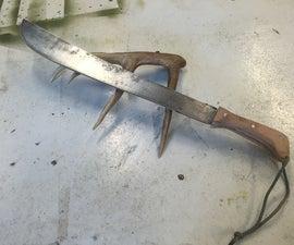 Replacing A Machete Handle