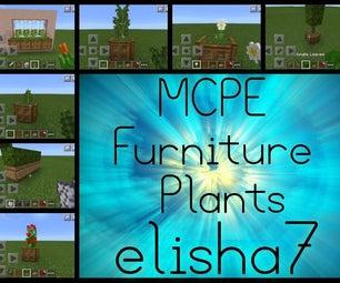 Minecraft Furniture Plants