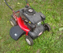 Italian-American style mower