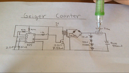 Adding the Geiger Tube and Detector Circuit