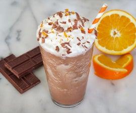 Orange Mocha Frappuccino Recipe