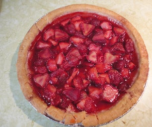 Summer Strawberry Pie