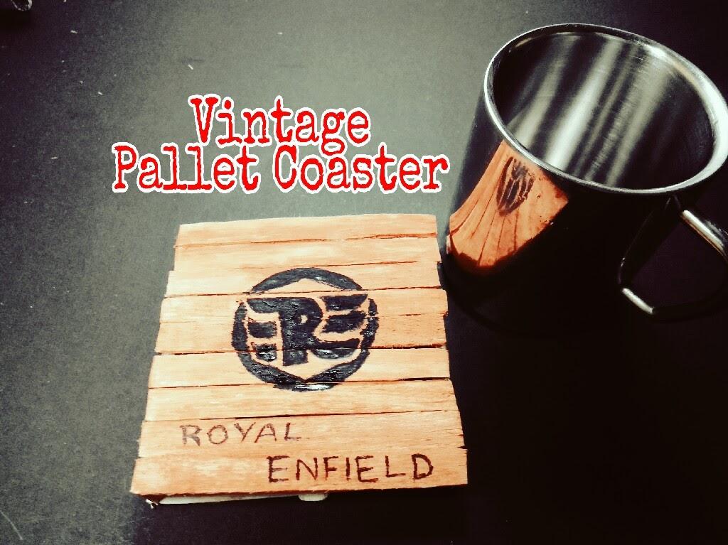 Picture of Vintage Pallet Coaster