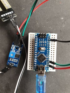 Connect Humidity Sensor Amplifier to Arduino