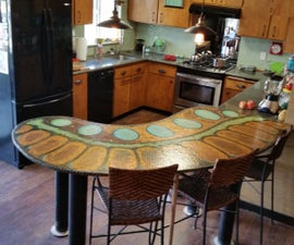 Penny Counter Top Functional Art