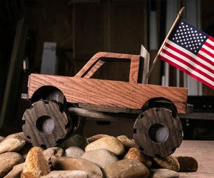 How to Make a Wooden Toy Truck
