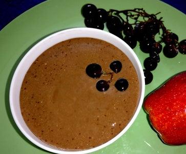 Chocolate Greek Yogurt Fruit Dip