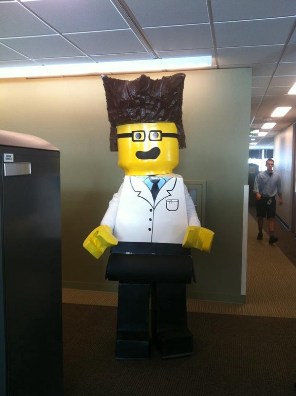 Lego Scientist