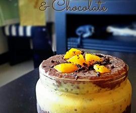 Fresh Mango Chocolate Chia Parfait