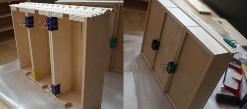 Picture of Glue Top Three Drawers Into One