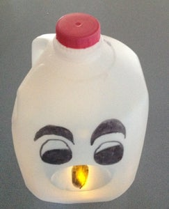 Milk Carton Ghost (Boo!)