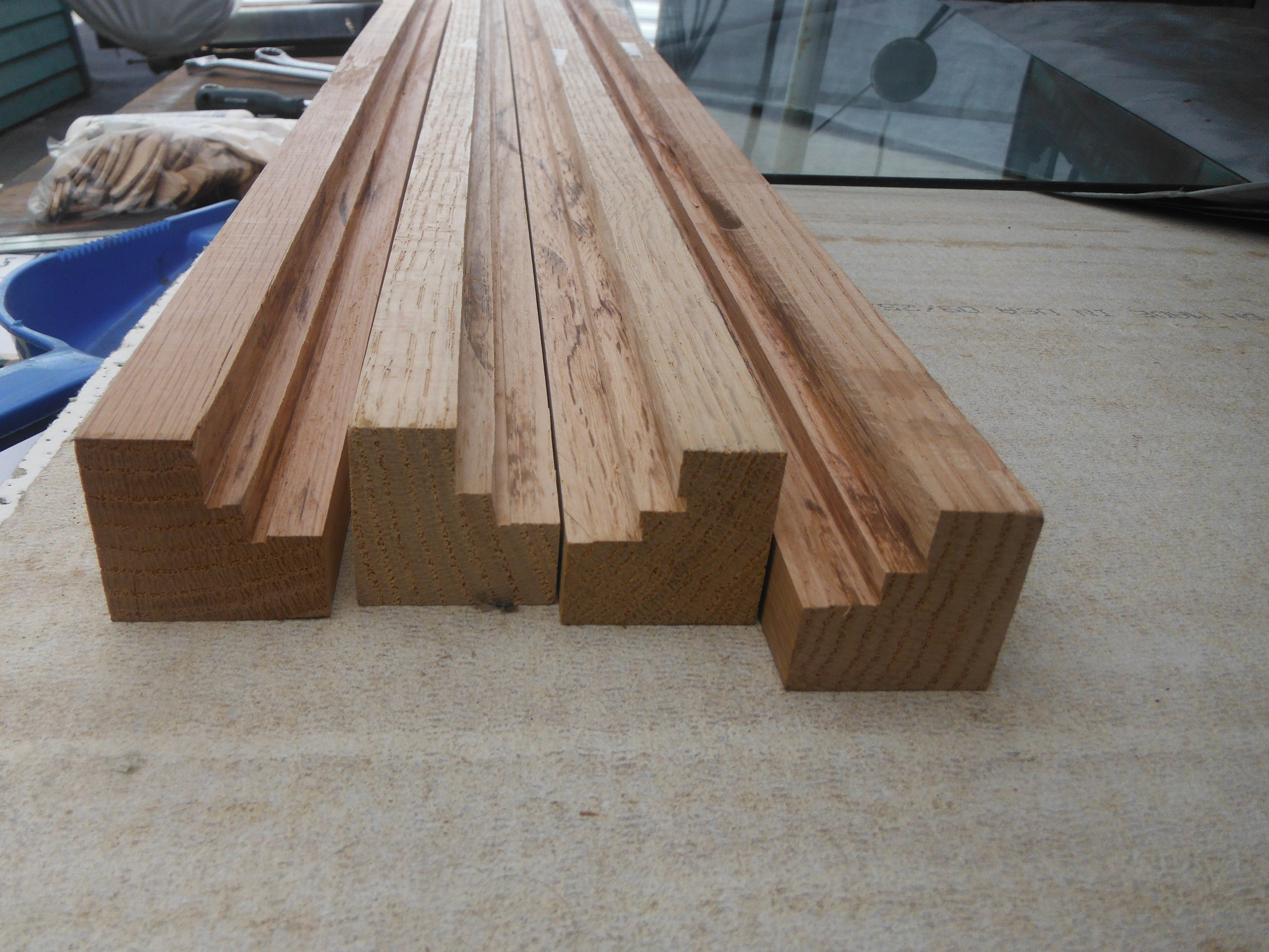 Picture of Cut Up Lumber,Carve Biscuit Slots