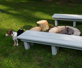 Simple, sturdy benches