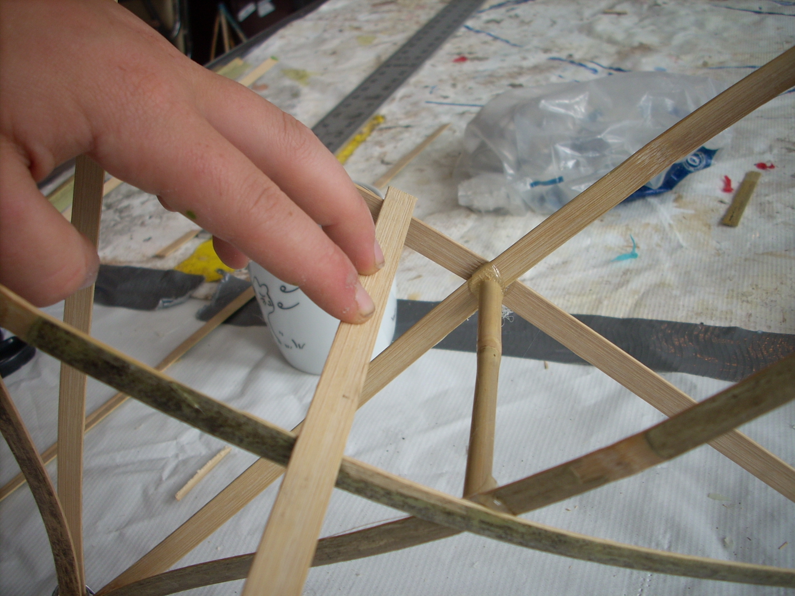 Picture of Creating the Platform for the Tea Light