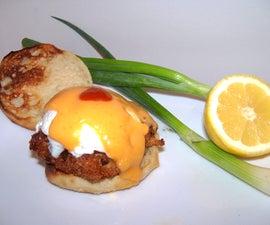 Shrimp Cake Eggs Benedict