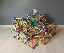 Knex Ball Machine Lift: Triple Moving Arm Lift