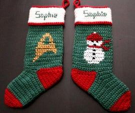 Intro to Crochet - Christmas Stocking