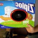 ziplock box speaker.