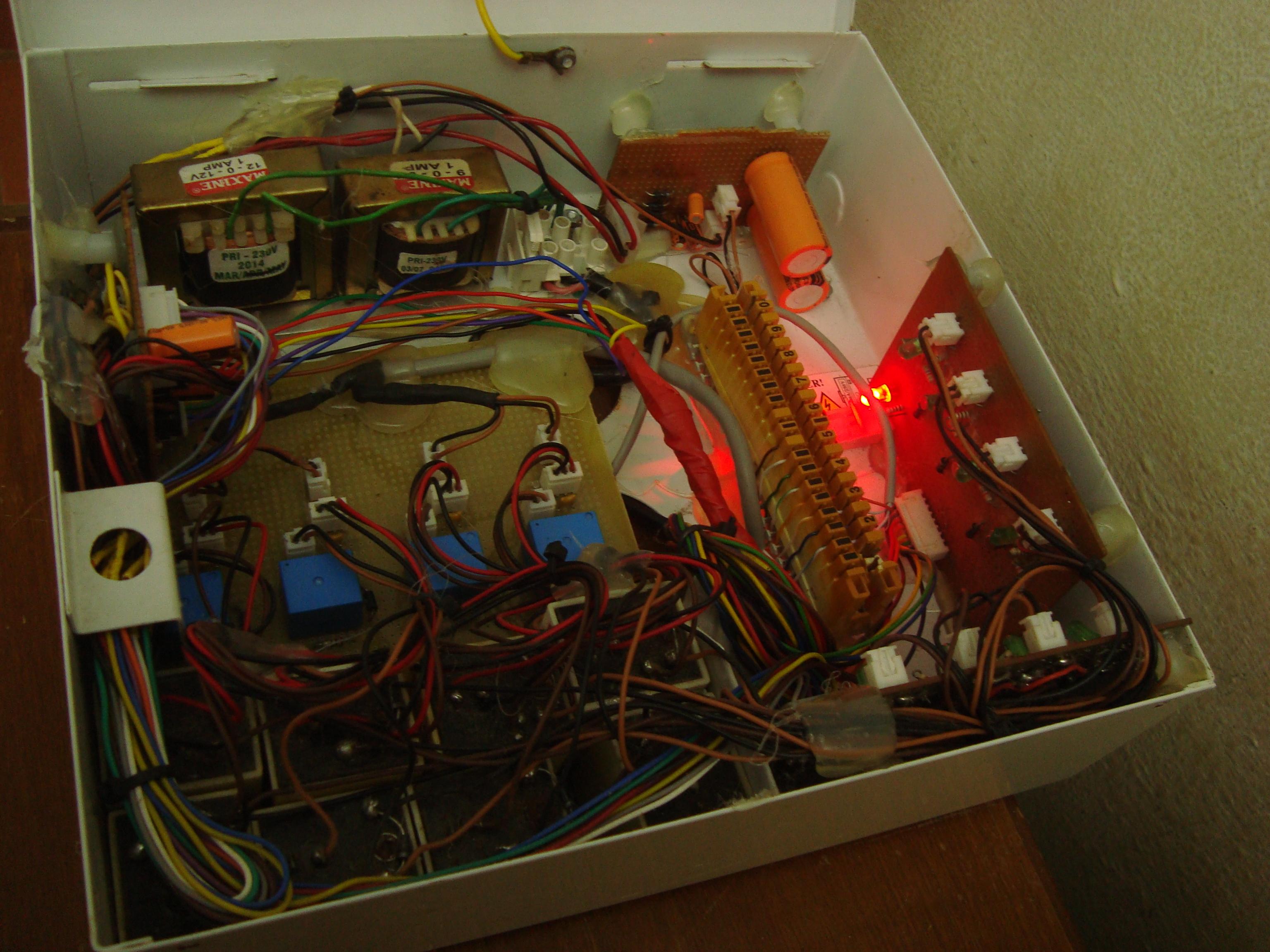 Picture of Homemade Intercom (PBX) With GPIO
