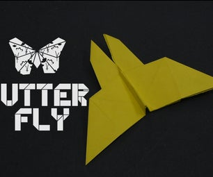 How to Make an Origami Butterfly : by OrigamiArtists
