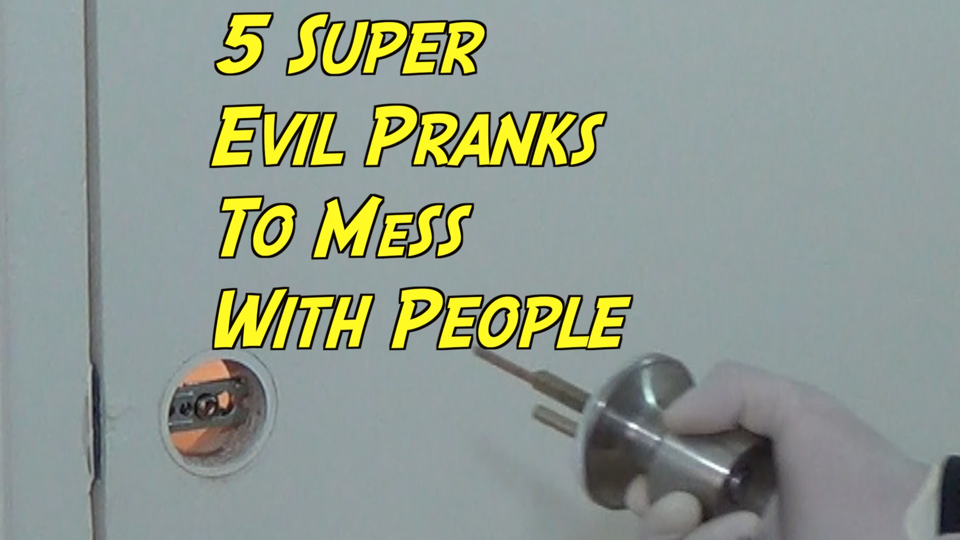 Picture of 5 Super Mean Pranks to Mess With People!