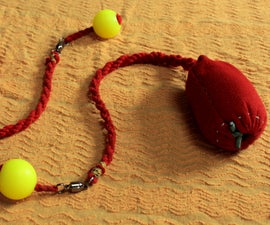 How to make beautiful soft poi from a piece of cloth