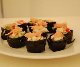 Wasabi Cheesecake Sushi