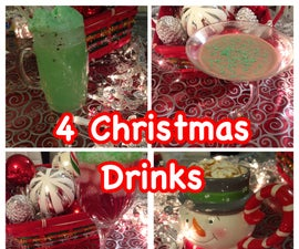 4 Christmas and Holiday Drink Ideas