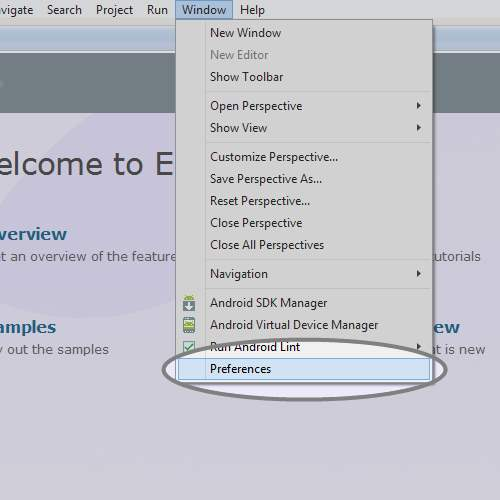 Picture of Access ADT Plugin Preferences