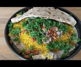 Mansaf - منسف - Jordanian Mansaf - Lamb Recipe -