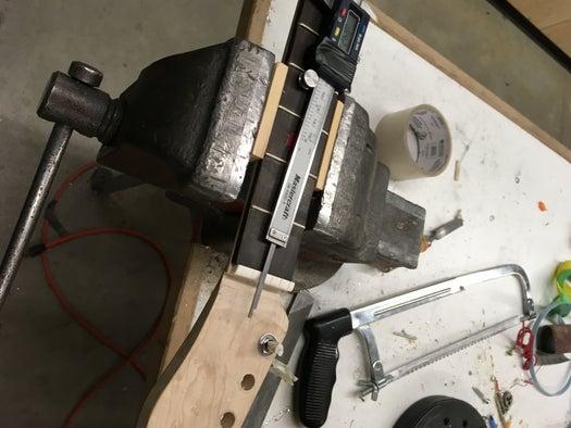 Adding the Nut